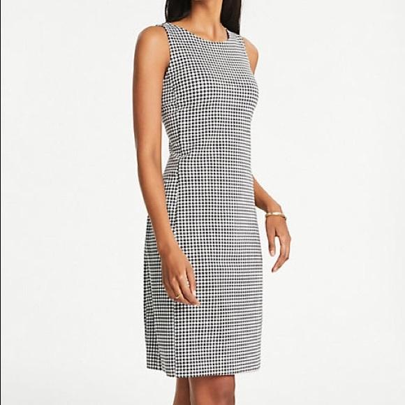 LOFT Dresses & Skirts - Ann Taylor LOFT Houndstooth Dress